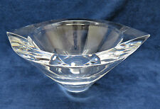 "Orrefors Sweden Heavy ""Marin"" Crystal Centerpiece Bowl, Signed"