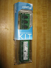 Crucial CT12864AC667 Memory Module Kit PC2-5300 2 GB DIMM 667 MHz DDR2 SDRAM