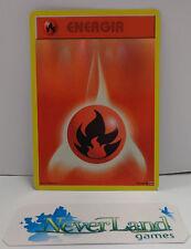 Carta Game Gioco Pokemon HOLO FOIL BRILLANTE ITALIANO ENERGIA 92  108 Fuoco Fire
