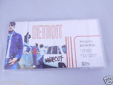 "RARE Whiteout DETROIT  Japan 3"" CD Snap pack Single in Plastic Case"