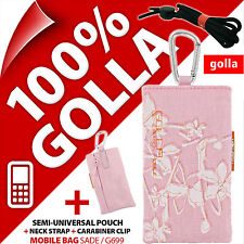 New Golla Pink Mobile Phone Case Pouch for Nokia 6303 6700 5280 C5 C3-01 C2-01