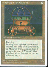 MAGIC THE GATHERING 4TH EDITION ARTIFACT MISHRA'S WAR MACHINE