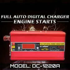 Intelligent 12V 20A Full Auto Digital Display Car Battery Charger &Engine Starts