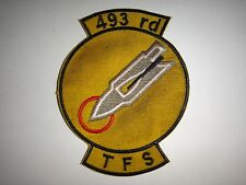 US Air Force Patch 493rd TACTICAL FIGHTER Squadron