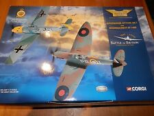 CORGI AVIATION 1:72 BATTLE OF BRITAIN SPITFIRE MK.1 & MESSERSCHMITT BF 109E