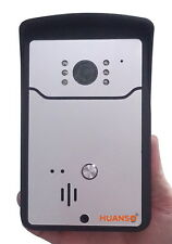 Wireless Door Bell Remote Video Camera Night Vision iPhone Android WiFi Doorbell