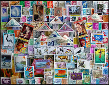 World wide 1000 All Different Postage Stamps-Large & Small-Good Composition