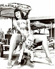 Bettie Betty Page Leggy 8x10 photo S0611