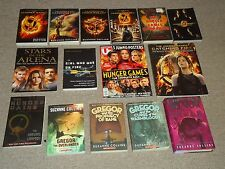 Lot 15 Complete Hunger Games Books World Tribute Guide Underland Chronicles