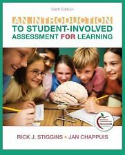 Introduction to Student-Involved Assessment FOR Learning, An (6th Edition), Rick