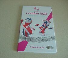 The Official Olympic London 2012 50p coins Sports Collection Album - NO COINS