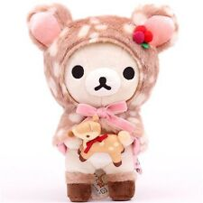 Sale! Rare HAPPY NATURAL TIME Korilakkuma Plush holding Deer Valentines Gift