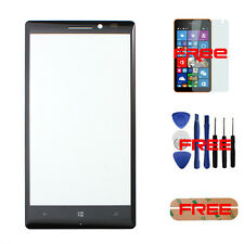 For Nokia Lumia 930 Front Outer Screen Glass Lens Panel Replacement Cover Black