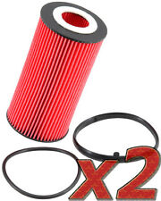 2 Pack: Oil Filter K&N PS-7010 (2) for Auto/Truck Applications