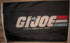G.I. Joe 3'x5 Black Flag Banner