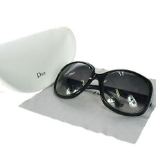 Authentic Christian Dior Logos Sunglasses Eye Wear Plastic Green Italy 08M321