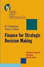 Finance for Strategic Decision-Making: What Non-Financial Managers Need to Know