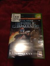 Star Wars Republic Commando *1st Prrint* (Xbox, 2005) *BRAND NEW/SEALED*