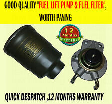 FOR MITSUBISHI PAJERO SHOGUN 2.5 2.8 FUEL DIESEL LIFT PUMP PRIMER & FILTER