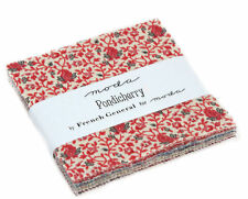 "Moda Charm Pack - Pondicherry - 42 x 5"" squares"