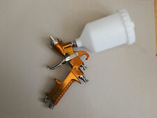 UK Seller 1.4mm Professional Gold Gravity Feed Paint Spray Gun W400