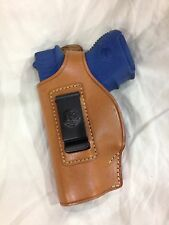 LEFT Hand Leather Concealment Holster for  GLOCK 26 / 27  -  (# 214L BRN)