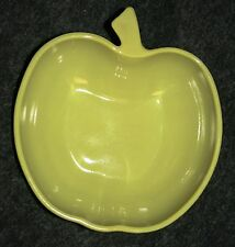 Vintage Hazel Atlas Apple Collection Small Yellow Salad Bowl 8 Available Nice!