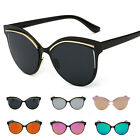 Fashion Women's Retro Cat Eye Designer Mirrored Sunglasses Shade Glasses Eyewear