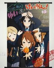 Cute ! K-ON!Mio Akiyama Mio & Hirasawa Yui Home Decor Poster Wall Scroll