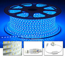 5 Meters Blue LED Strip 220V 240V IP67 Waterproof 3528 Lights Rope Home Xmas