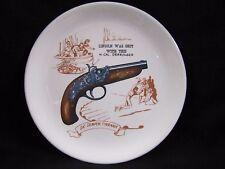 Abraham Lincoln Derringer Sic Semper Tyrannis Porcelain Collector Plate Vintage