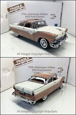 Danbury Mint 1955 FORD FAIRLANE CROWN VICTORIA 55TH ANNIVERSARY LE-NMIB! SCARCE!