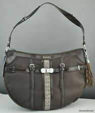 FREE Ship USA Handbag GUESS Scent City Satchel Bag Brown Ladies Chic Stylish