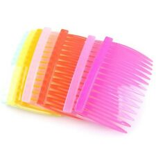 20pcs Nice Mixed Color Plastic Charms Tuck Comb Hair Pin Clip Cute Findings LC