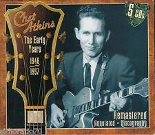 CHET ATKINS The Early Years 1946 - 1957 - 5 CD Box Set - NEW