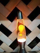 Vintage mathmos astro baby lampe à lave orange et transparent