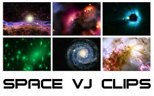 Space – VJ Kit – MEGA PACK - 400+ Clips. Full 3D Render. Video. Editing. Footage