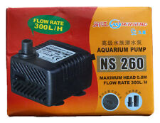 Hi power head fish aquarium NS 260 filter speed  Li 300Ph capacity 400 Liters