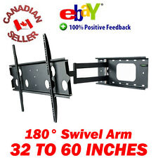 32 - 60 INCH SWIVEL ARTICULATING PLASMA LCD LED TV WALL MOUNT 40 42 47 50 52 55