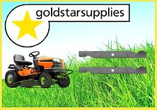 "2 x 42"" side discharge blades to suit selected HUSQVARNA Ride-On Mowers"