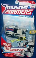 Transformers Animated Deluxe Class Autobot Jazz New 2010