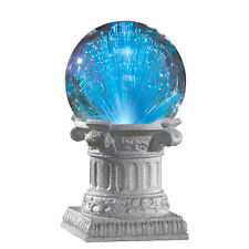 Solar Fiber Optic Gazing Ball Garden Decoration, by Collections Etc