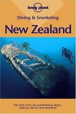 Lonely Planet Diving & Snorkeling New Zealand-ExLibrary