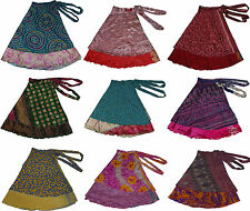 36 inch reversible sari wrap magic skirt / dress 10 pcs  - XL size skirts