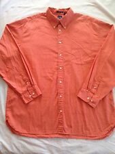 Gap Men's XXL button Down 80's Pinpoint Oxford Dress Shirt Fast Free Shipping