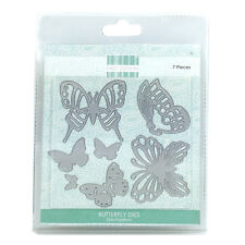 FIRST EDITION CRAFT BUTTERFLY DIES 7 PIECES ON MAGNETIC SHEET, NEW