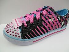 SKECHERS TWINKLE TOES CHILD GIRLS TRAINERS BRAND NEW SIZE UK C10 (5B)