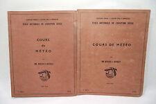 Ecole nationale de l'aviation civile COURS de MÉTÉO 1953/54 2e édition ENAC (L2)