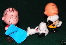 SNOOPY, CHARLY BROWN AND FRIENDS, 3 McDONALDS FIGURES, HAPPY MEAL