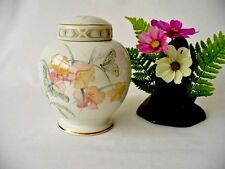 Pastel Butterfly Ginger Jar - Royal Winton Staffordshire